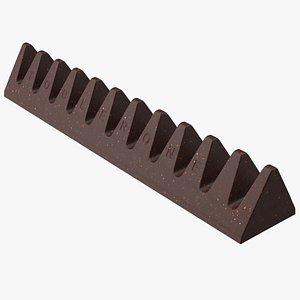 3D model Toblerone Dark Chocolate Bar