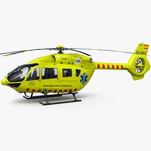 Airbus Helicopter H145 Emergency model