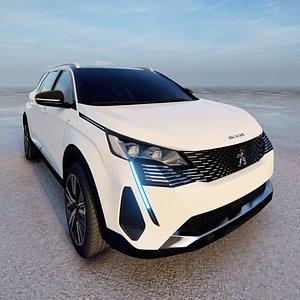 Peugeot 5008 facelift 2022 model model