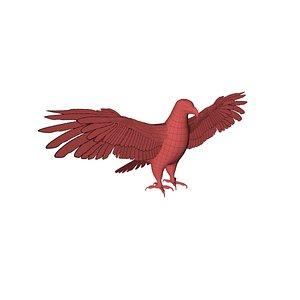 mesh eagle 3D model
