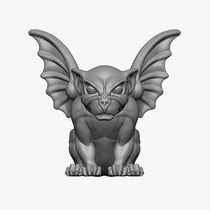 Gargoyle Statue 3D print model