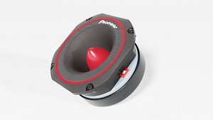 tweeter speaker 3D