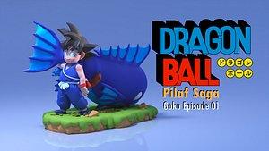 3D Goku - Pilaf Saga - Episode 01 - Dragon Ball print model