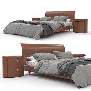 3D Bed Set 01