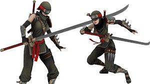 Elf Female Archer Warrior UE - Unity 3D