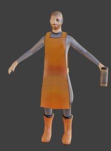 herrero 3D model