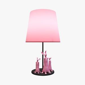 3D Rabbit Desk Lamp