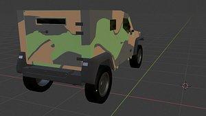 3D Panhard Pvp model