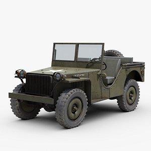 Bantam BRC40 Jeep 3D