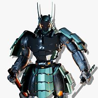 Samurai Robot asset