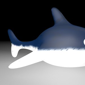 baby shark 3D model