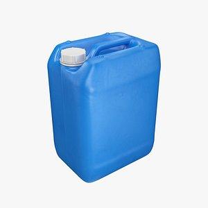 3D container plastic