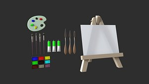 painting tools model
