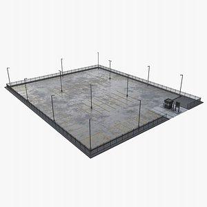 parking area 3D model
