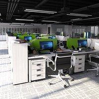 Office  Loft Interior 1
