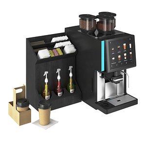 3D model coffee machine