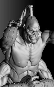 Prince Goro.Mortal kombat 1995.3D printable.STL. 3D model