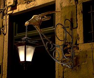 3D model Old Street Lantern  Goat Design