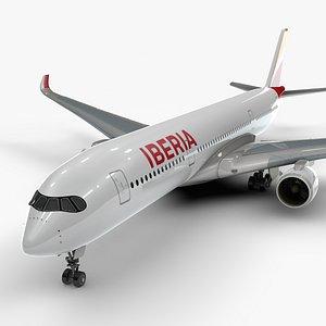 3D a350-900 iberia l1103