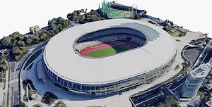 Japan National Stadium 3D