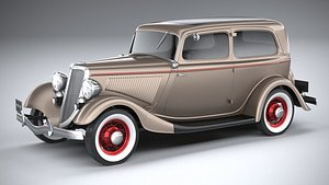 tudor 1934 3D model