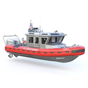 coast guard rescue boat model