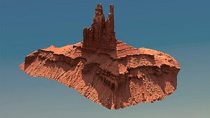 canyon cliff 3D model