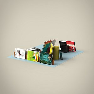 books set 3D