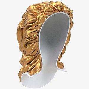 3D model Sculpted Hair X1 CNC