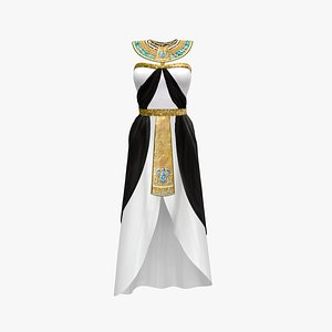 Ancient Egyptian Quinn Costume - Cleopatra model