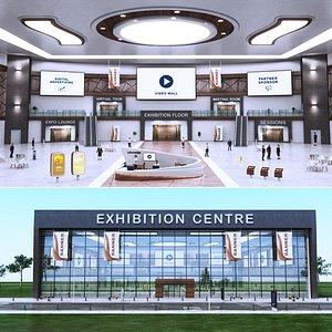 e-Congress Lobby Centre 7 3D model