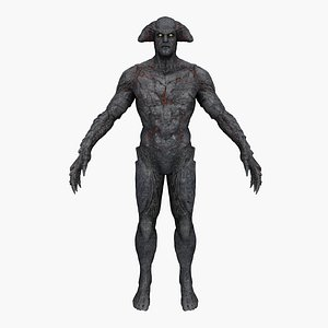 demon creature 3D model