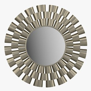 Decorative mirror Sun Nelwyn 3D model
