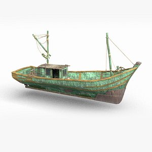 3D realistic fishermen s