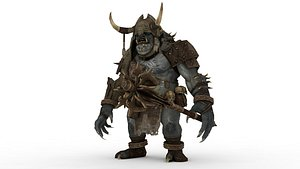 Shadow of the Demon Lord on Behance 3D model