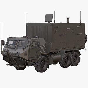 Armored Concept Radar Truck 3D model