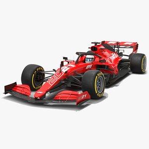 Formula 1 Season 2021 F1 Race Car 3D model