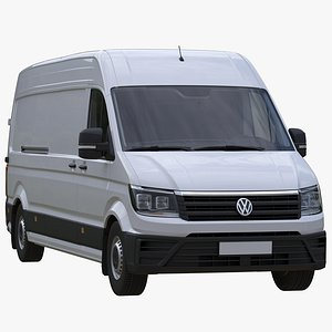 VW Crafter 2 PanelVan L4H3 3D