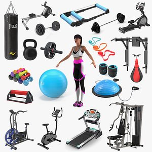 Gym Collection 8 3D model