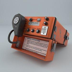 radio telephone 3D