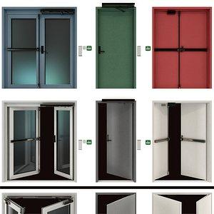 metal doors model