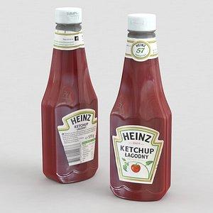 3D Heinz Ketchup Mild 570g 2021