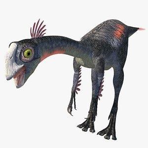 gigantoraptor dinosaur 3D model