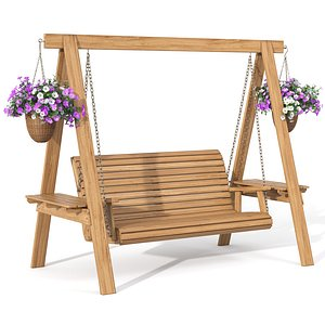 3D garden swing