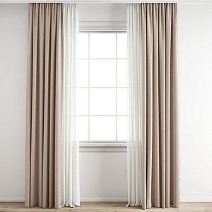 3D Curtain 222
