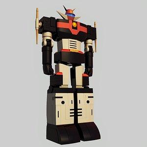 kuuraiou god sigma robot 3D model