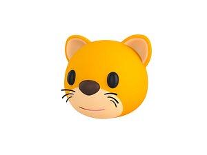 3D Cat Head model