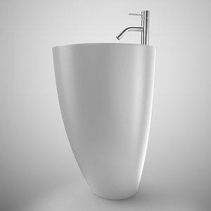 3D kinea washbasin