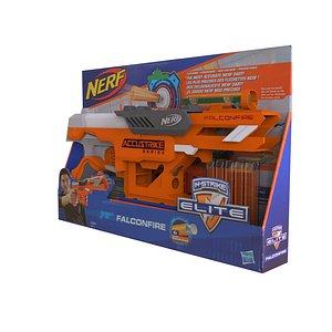 Nerf Gun Toy 3D model