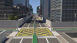 City 3D Model 3D model